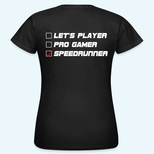 let s player 4x png - T-shirt Femme
