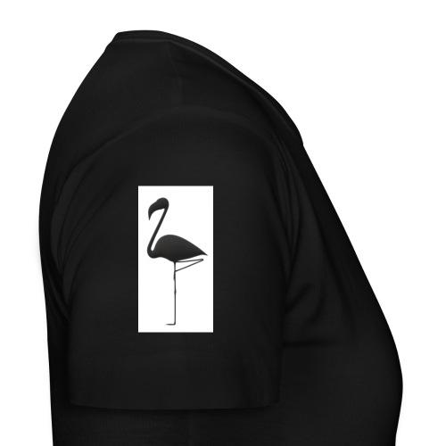 Silhouette Fenicottero - Maglietta da donna