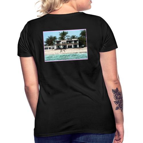 sadBoy Stick man Beach - Vrouwen T-shirt