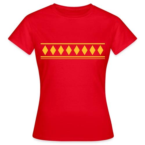 jussipaitakuvio - Naisten t-paita
