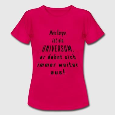 Universum - Frauen T-Shirt