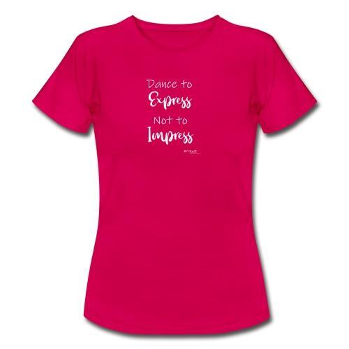 express blanc - T-shirt Femme