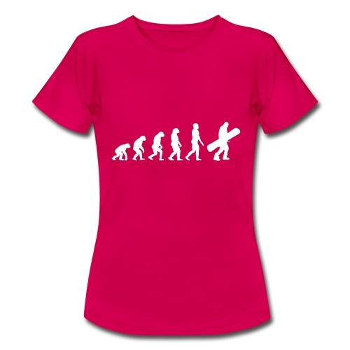 snow evolution - Camiseta mujer
