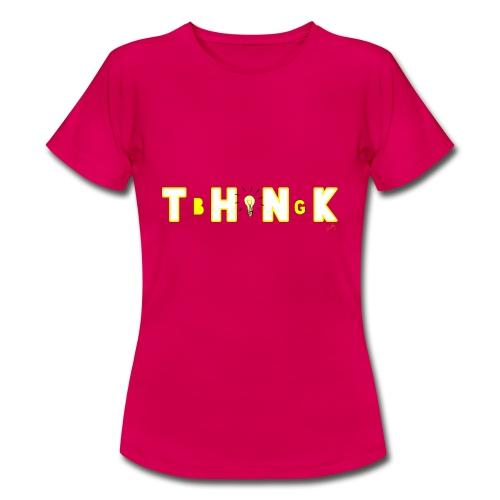 THINK BIG - T-shirt Femme
