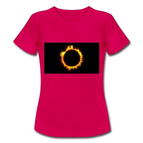 Flames - Dame-T-shirt