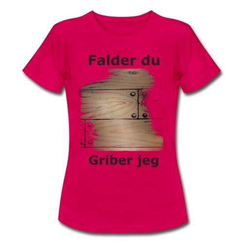 Gulvet Griber - Dame-T-shirt
