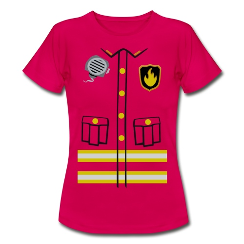 Firefighter Costume - Women's T-Shirt
