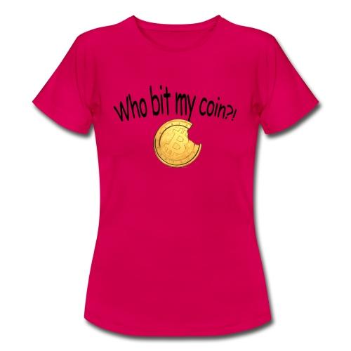 Bitcoin bite - Vrouwen T-shirt