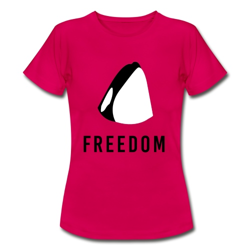 Whales for Freedom - Women's T-Shirt