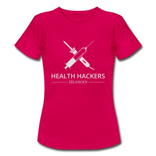 Logo Health Hackers e.V. - Frauen T-Shirt