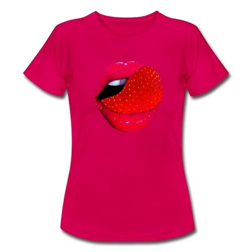 Usta - Koszulka damska