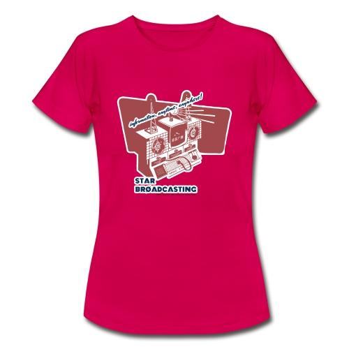numbers stations hi - Women's T-Shirt