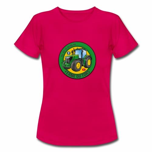 Logo de la Ferme - T-shirt Femme