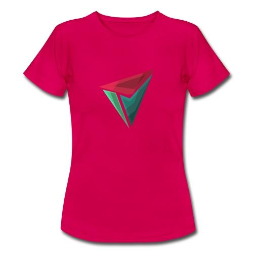 90gQopen T-Shirt   Logga Färg - T-shirt dam
