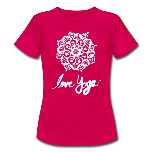 Love Yoga. Simply love it. - T-skjorte for kvinner