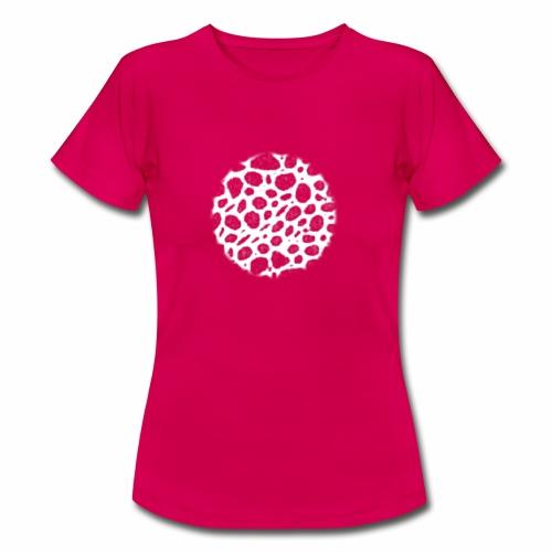 Muster Netz Weiß - Frauen T-Shirt
