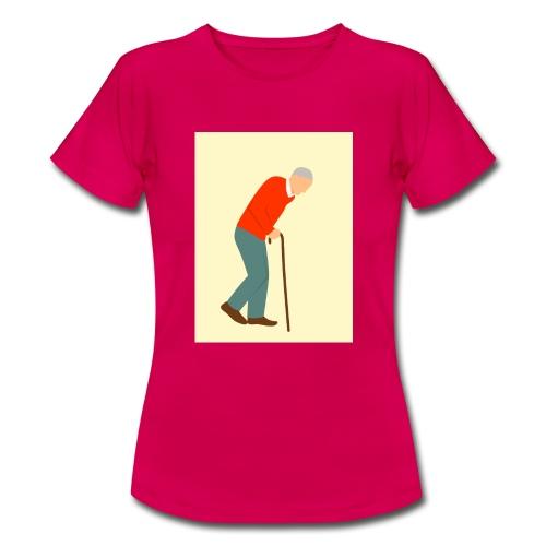 Alter Mann - Frauen T-Shirt