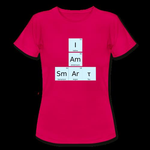 I Am Smart Periodic Table Design - Women's T-Shirt