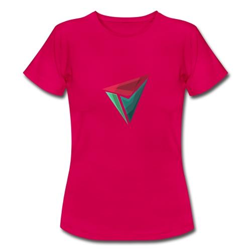 90gQopen T-Shirt | Logga Färg - T-shirt dam