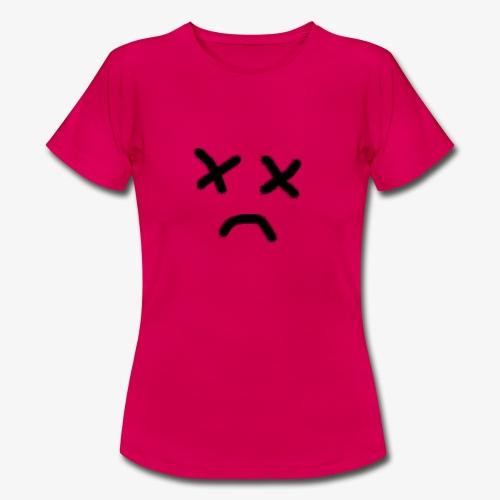 cara x triste 2 - Camiseta mujer