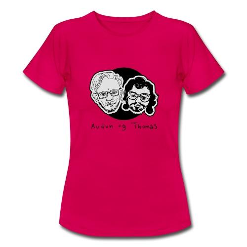Audun og Thomas - T-skjorte for kvinner