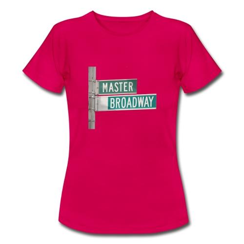 MBStreetSign - T-shirt Femme