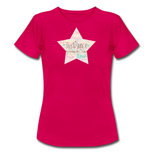 PAS Star Colors bg beige - Frauen T-Shirt