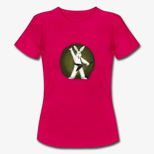 Metal Bunny - T-skjorte for kvinner