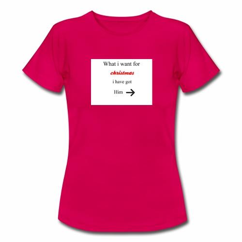 christmas - Women's T-Shirt