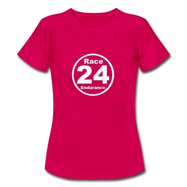 Race24 round logo white