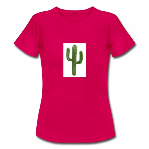 grune kaktus - Frauen T-Shirt