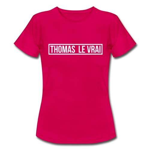 Thomas Le Vrai - T-shirt Femme