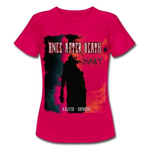 OADDIARY COVERblank png - Frauen T-Shirt