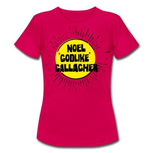 Noel Gallagher 'Godlike' - Black on Yellow - Maglietta da donna