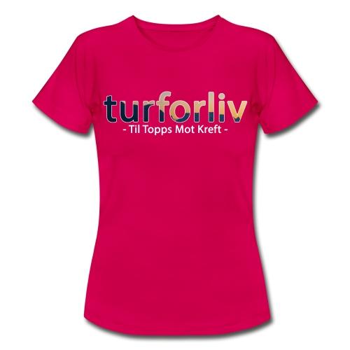 tiltopps - T-skjorte for kvinner