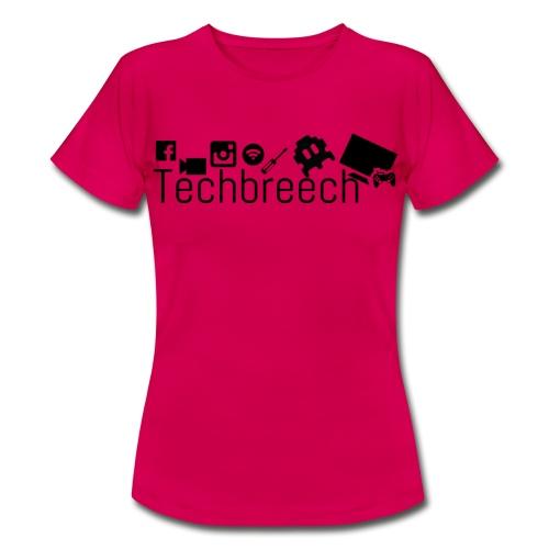 Logotype Techbreech - T-shirt dam