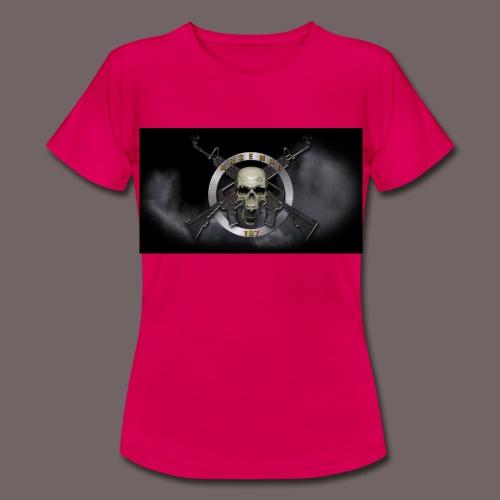 187 logo t shirt jpg - T-shirt Femme