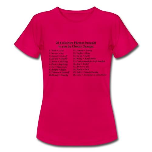 Yorkshire - Women's T-Shirt