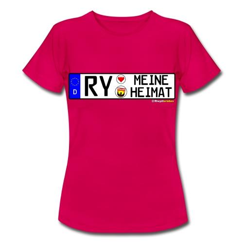 RY-MEINE HEIMAT - Frauen T-Shirt