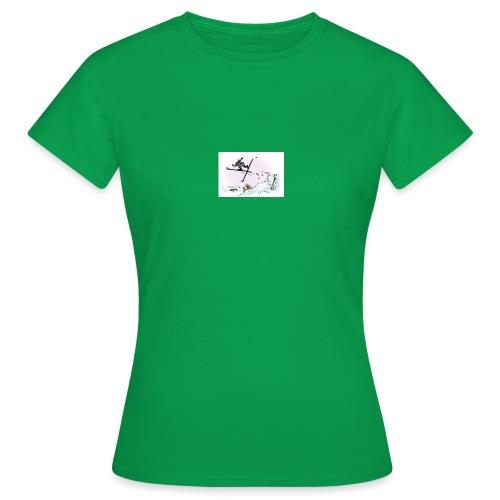 skihopp - T-skjorte for kvinner