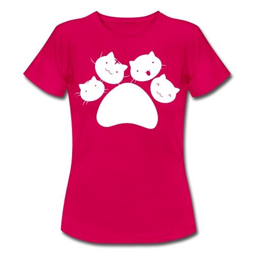 4Chatons Logo - T-shirt Femme