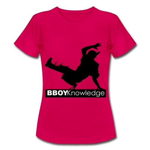 Bboy knowledge noir & blanc - T-shirt Femme