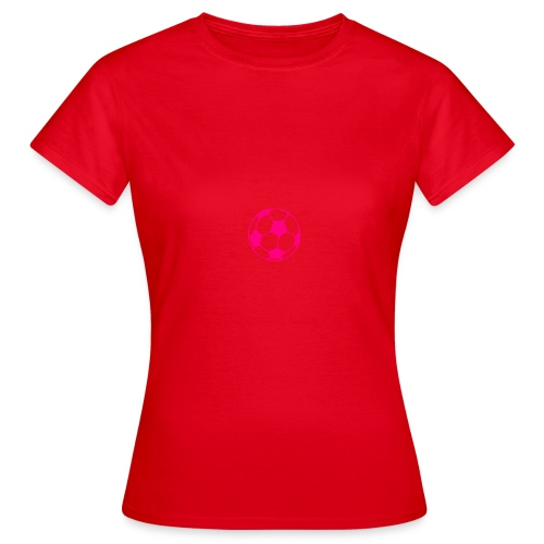 pink football md png - Women's T-Shirt