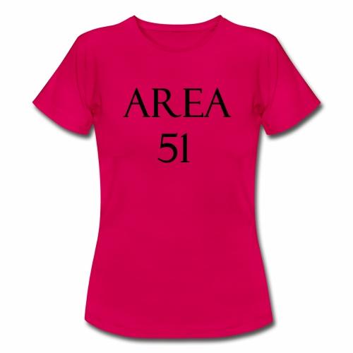 Area51 - tuotesarja - Naisten t-paita