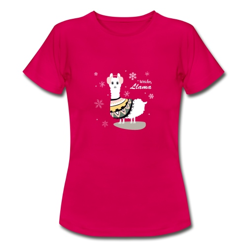 Weiches Lama Lama T-Shirt - Frauen T-Shirt