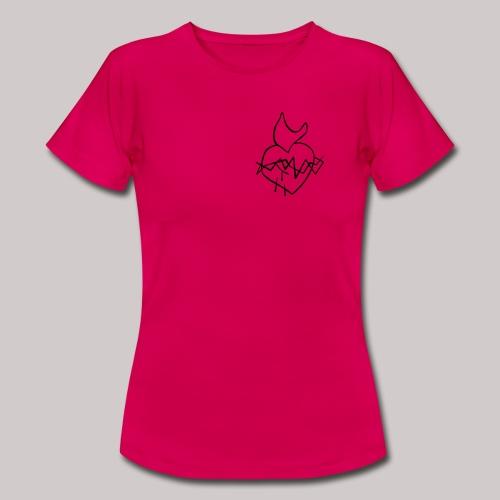 Sagrado Corazón de Jesús - Camiseta mujer