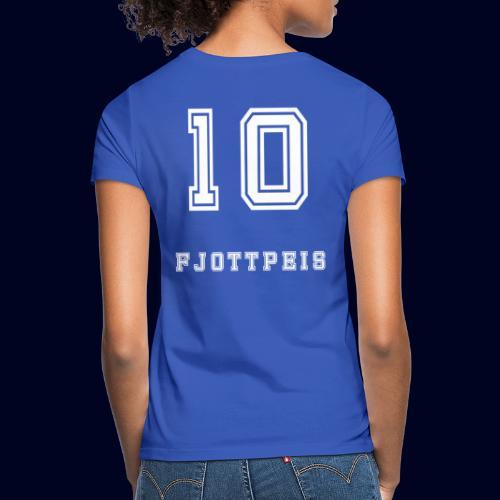 10 Fjottpeis - T-skjorte for kvinner