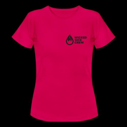 Wicked Sick Crew Tropfen schwarz - Frauen T-Shirt