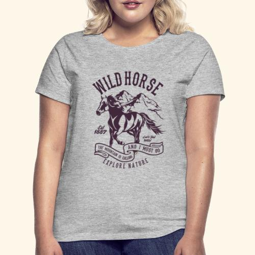 Wild Horse - Frauen T-Shirt