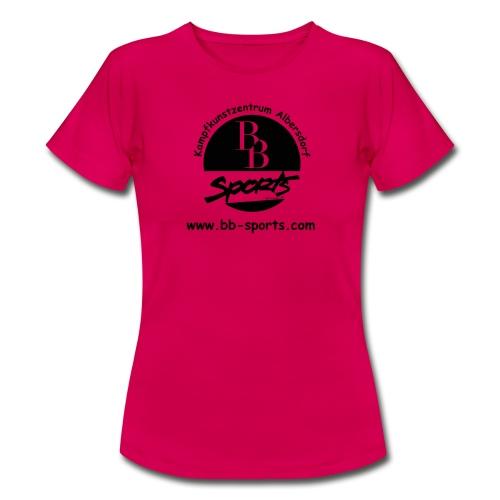BB Sports Logo neu einfach 2 - Frauen T-Shirt